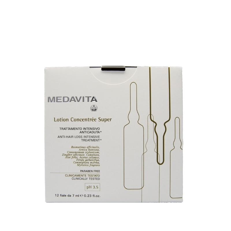 Medavita lotion concentrèe super trattamento intensivo anticaduta 12 fiale da 7 ml