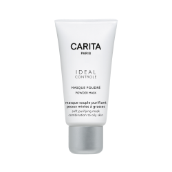 Carita Ideal Controle Masque Poudrè maschera viso purificante, opacizzante 50 ml