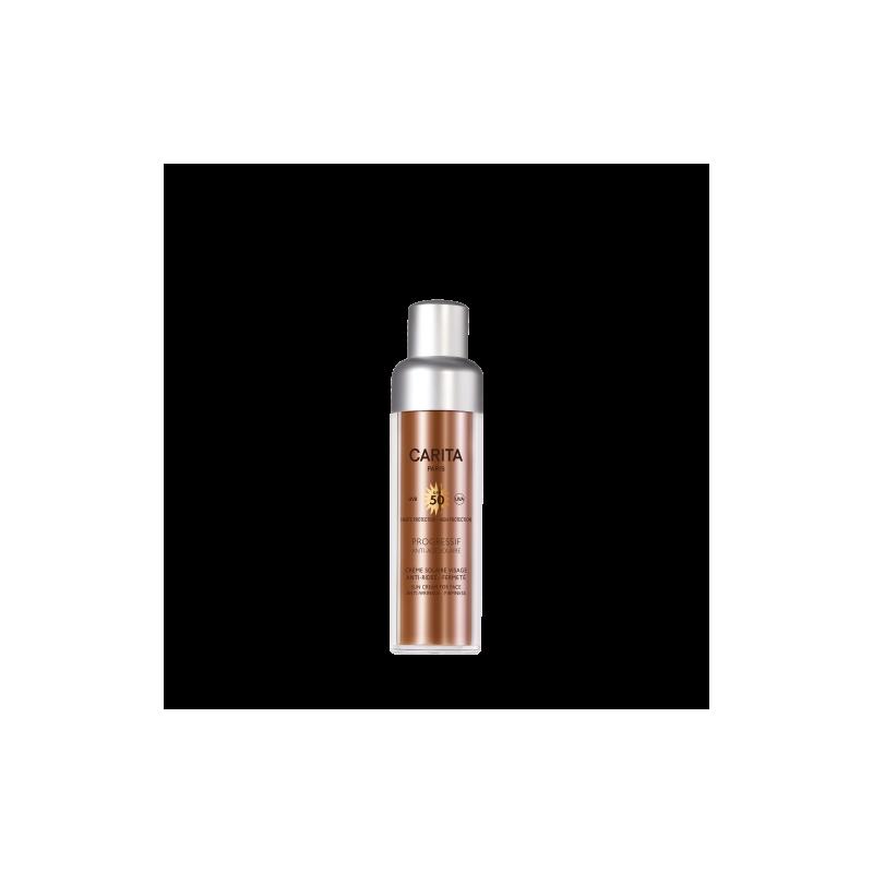 Carita Crème Solaire Visage Protectrice Anti-age Fermetè Spf 50  crema solare viso anti-età 50 ml