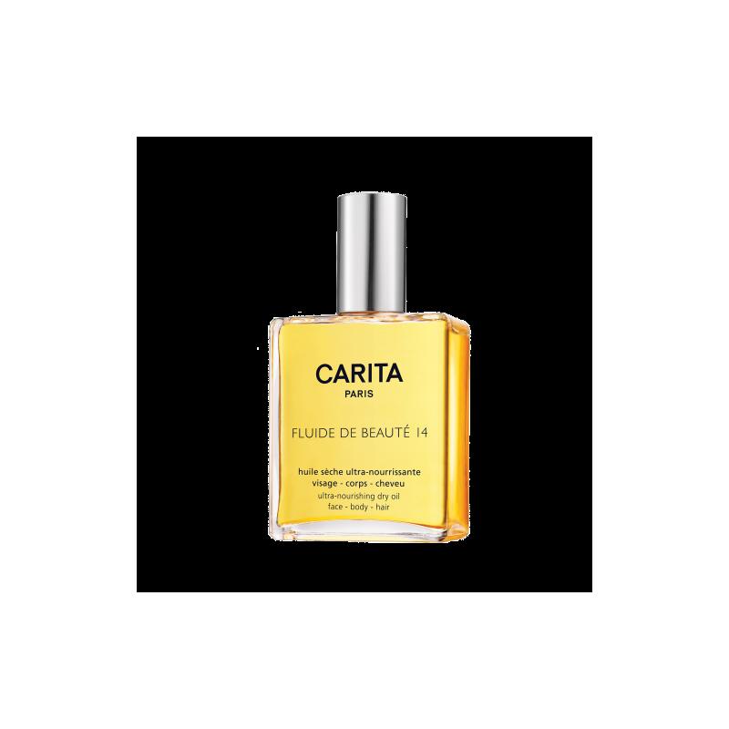 Carita Fluide De Beautè 14 Olio secco ultra nutriente per corpo, viso e capelli 100 ml