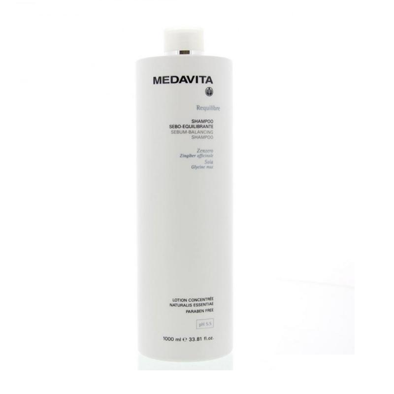 Medavita Shampoo sebo-equilibrante 1000 ml antisebo