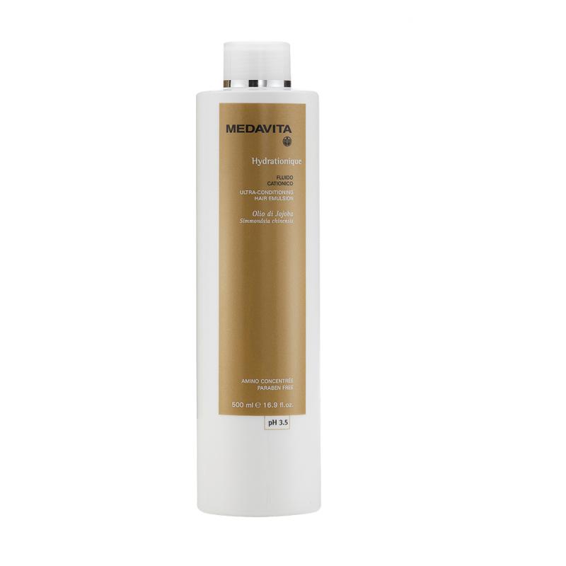 Medavita Hydratonique fluido cationico emulsione idro-nutritiva e condizionante 500 ml