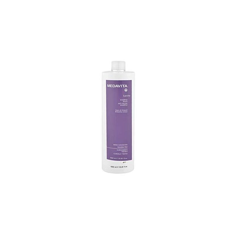 Medavita Luxviva shampoo silver anti giallo 1000 ml