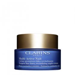Clarins Multi-Active Creme Nuit Légère pelli normali 50 Ml Clarins - 1