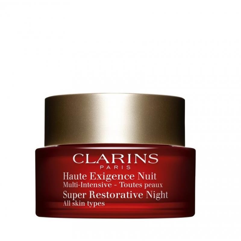 Clarins Multi-Intensive crème antietà Notte tutti i tipi di pelle 50 ml