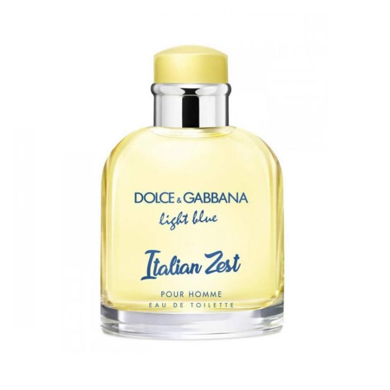 Dolce & Gabbana Light Blue pour homme italian zest eau de toilette 125 ml