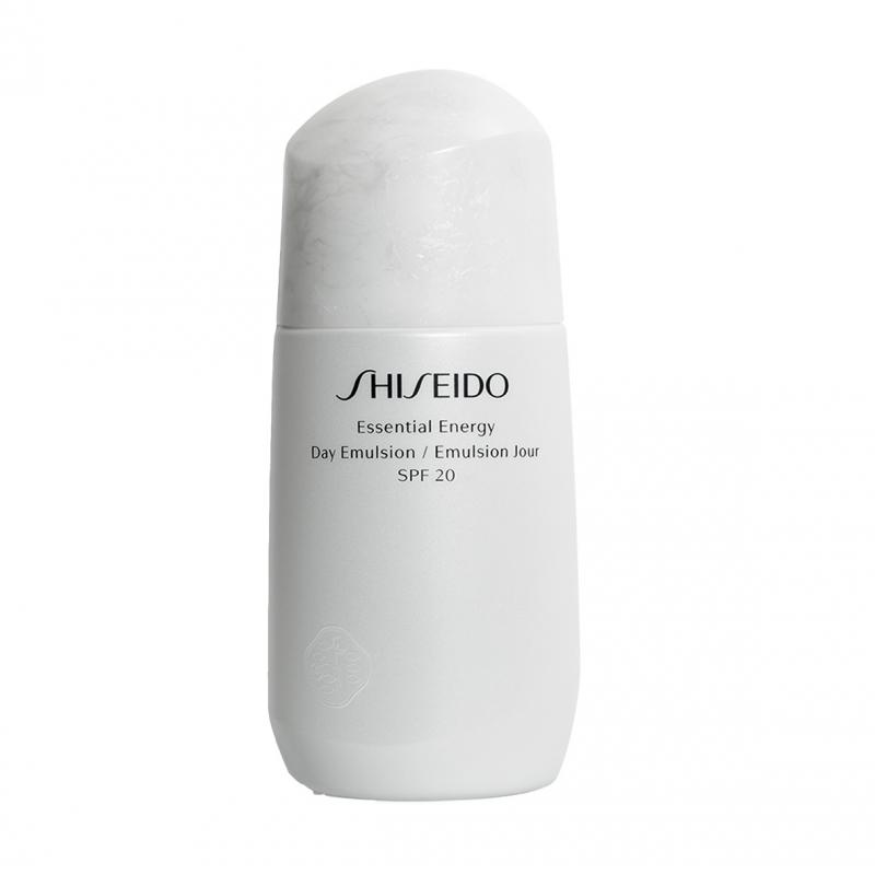 Shiseido Essential Energy Day Emulsion Spf 20- 75 ml crema viso giorno primi segni