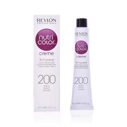 Revlon Professional nutri color creme Tubo 100 ml  Violet 200 Revlon Professional - 1