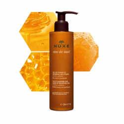 Nuxe Reve de miel Gel Nettoyant demaquillant visage 200 ml Nuxe - 1
