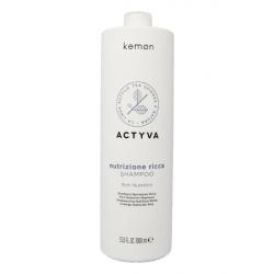 Kemon Actyva Nutrizione Ricca Shampoo 1000 ml Kemon - 1