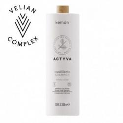 Kemon Actyva Equilibrio Shampoo Velian 1000 ml eccesso di sebo Kemon - 1