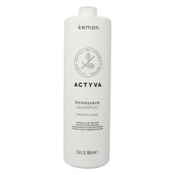 Kemon Actyva Benessere Shampoo 1000 ml cute sensibile Kemon - 1