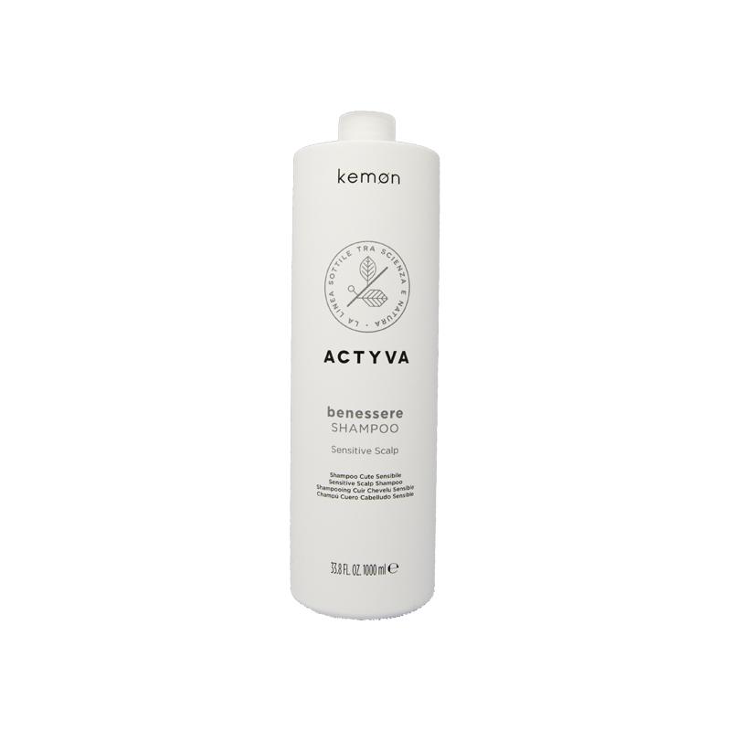 Kemon Actyva Benessere Shampoo 1000 ml cute sensibile