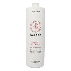 Kemon Actyva P Factor shampoo 1000 ml anticaduta Kemon - 1