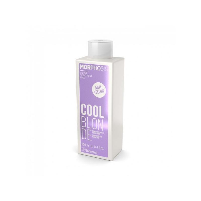 Framesi Morphosis Cool Blonde Shampoo 250 ml capelli biondi