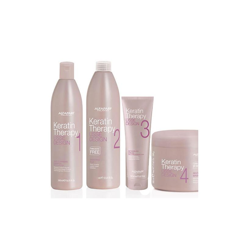 Alfaparf Keratin Therapy Lisse Design kit lisciante alla cheratina