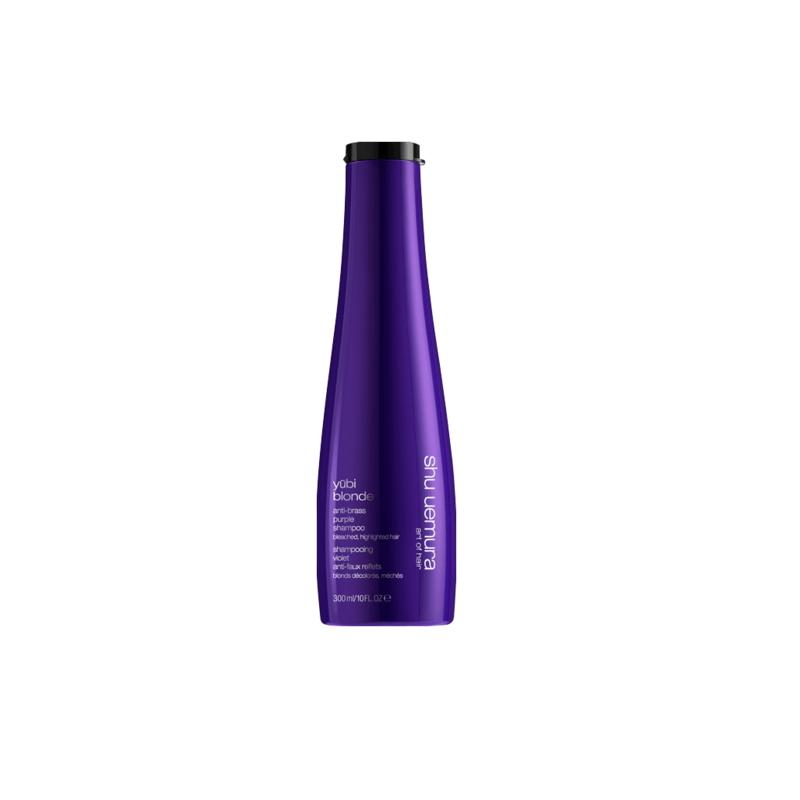 Shu Uemura yūbi blonde anti-brass purple shampoo-300ml