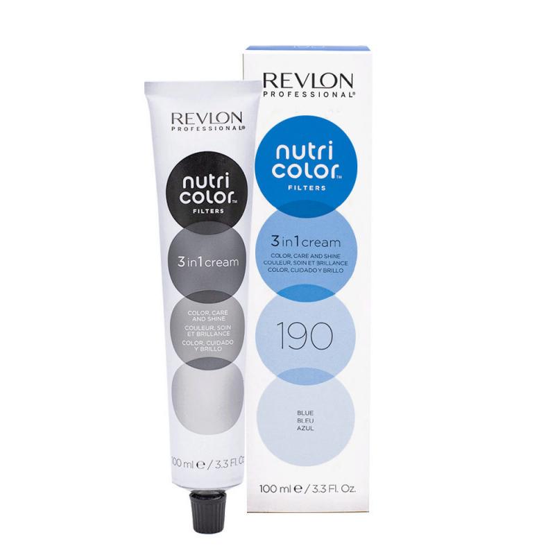 Revlon Professional nutri color creme Tubo 100 ml Blue 190