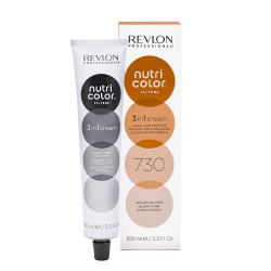 Revlon Professional nutri color creme tubo 100 ml  734 dorato rame