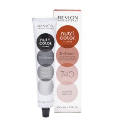 Revlon Professional nutri color creme tubo 100 ml  740 rame Revlon Professional - 1
