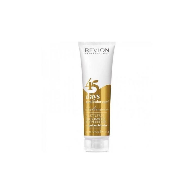 Revlon professional 2 in 1 shampo & conditioner 45 days golden blondes
