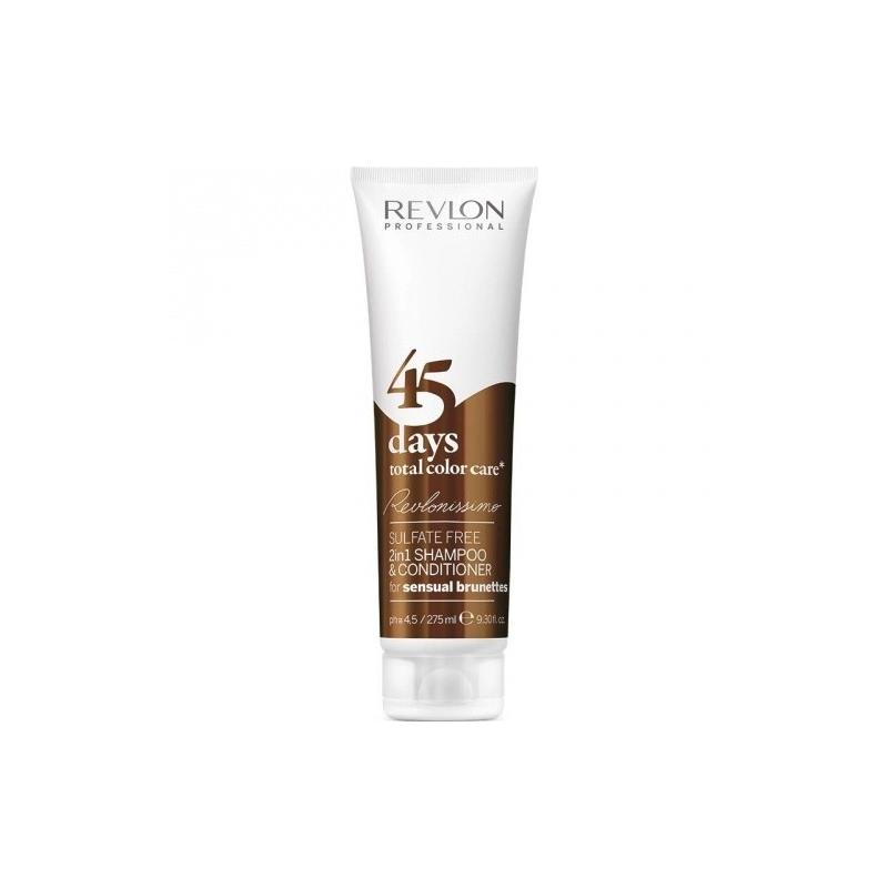 Revlon professional 2 in 1 shampo & conditioner 45 days sensual brunettes