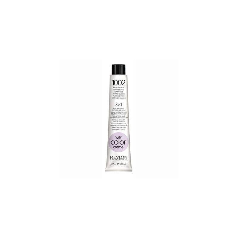 Revlon Professional nutri color creme tubo 100 ml 1002 bianco platino