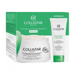 Collistar kit gel fango anticellulite 400ml + crema rassodante 75ml Collistar - 1