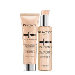 Kèrastase kit Curl manifesto Crème de jour + gelèe contour kerastase - 1
