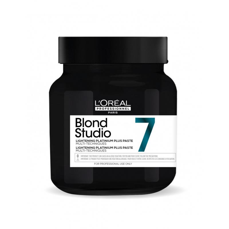 L'oreal Professionnel Blond Studio  platinium plus pasta 500 ml