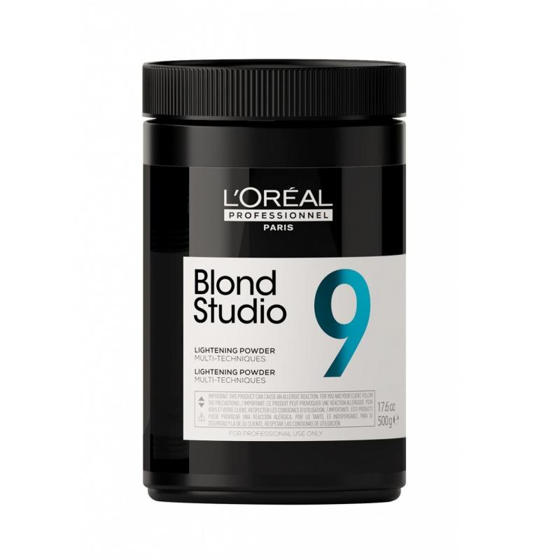 L'oreal Professionnel Blond Studio 9 polvere decolrante 9 toni 500g.