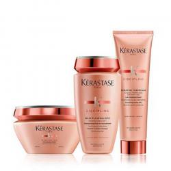 kerastase  kit Discipline Bain + masque + keratine thermique kerastase - 1