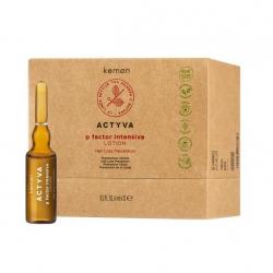 Kemon Actyva p Factor Intensive Lotion Prevenzione Caduta 12 Fiale x 6ml Kemon - 1