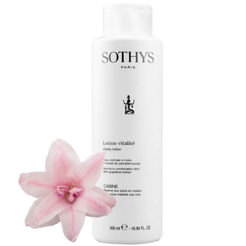 Sothys lotion dèmaquillant vitalitè 500 ml Sothys - 1