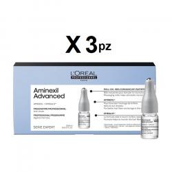 L'oreal Anticaduta Aminexil Advanced kit 30 fiale da 6ml L'oreal Professionnel - 1