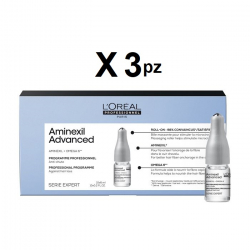 L'oreal Anticaduta Aminexil new kit 30 fiale + shampoo 300 ml L'oreal Professionnel - 1