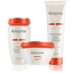 Kerastase Nutritive kit capelli spessi bain satin 2 - masque - Nectar thermique kerastase - 1