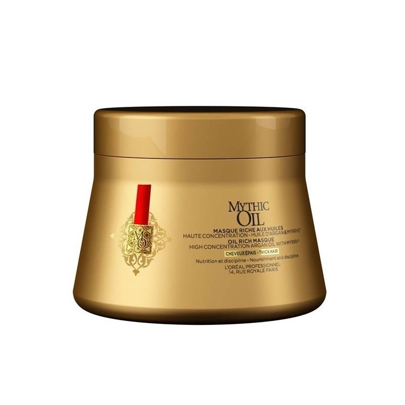 L'oreal Professionnel Mythic Oil maschera  nutriente per capelli  grossi 200 ml
