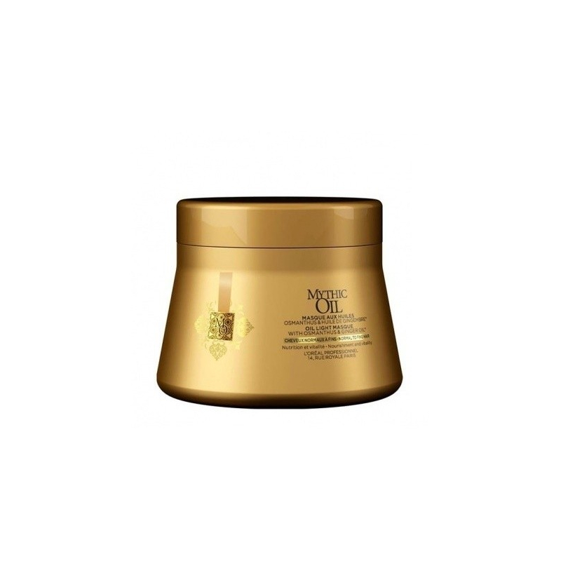 L'oreal Professionnel Mythic Oil maschera  nutriente per capelli fini 200 ml