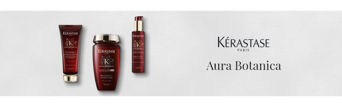 Kerastase Aura Botanica con il 98% di ingredienti di origine naturale senza solfati e senza siliconi per capelli straordinari e pieni di luminosità