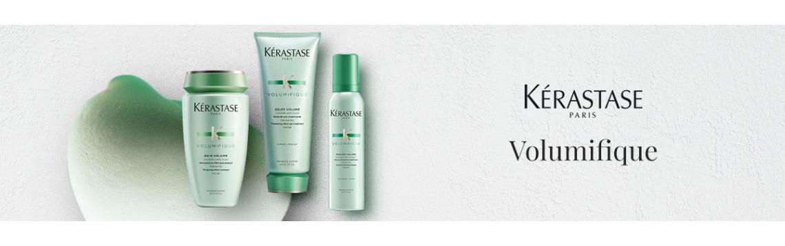 VOLUMIFIQUE La prima gamma di ispessimento capillare di Kérastase per donare volume e sinuosità ai capelli.