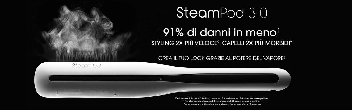 Piastra Steam pod al miglior prezzo online glamhair rivenditore autorizzato