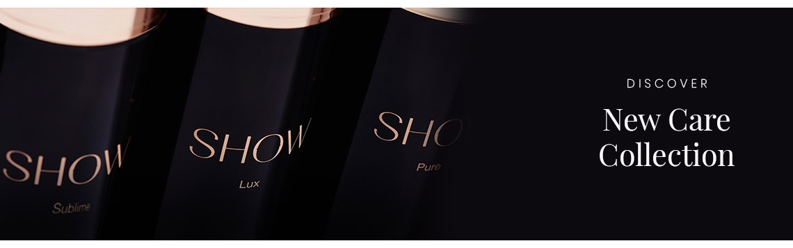 SHOW Beauty è una gamma indulgente e lussuosa progettata per dare volume e spessore a tutti i tipi di capelli.